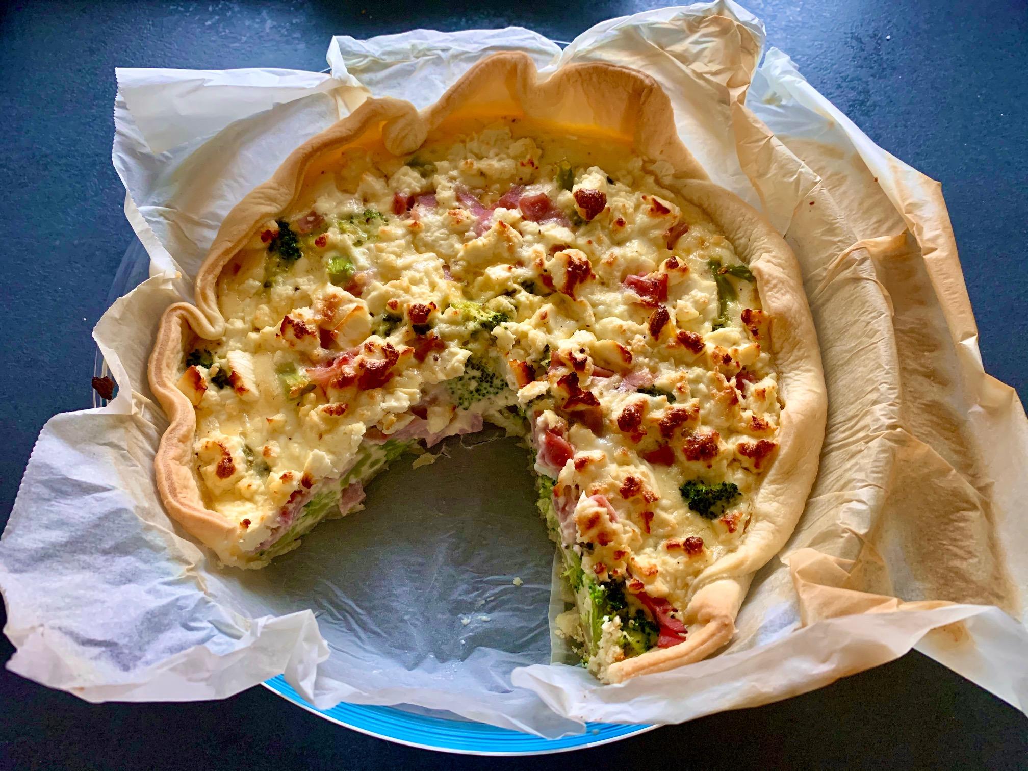 brokkoli feta quiche nachschlag bitte